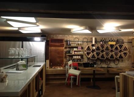Corpi illuminanti artigianali - VIVACE Bollicine & Food - Corso Vannucci - Perugia
