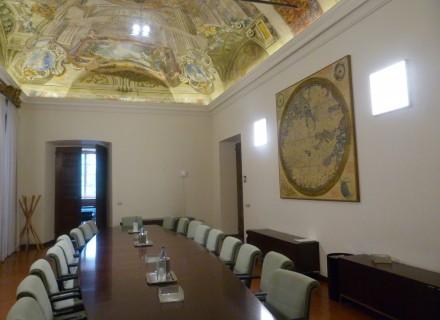 Nuovo sistema di illuminazione a LED Sala Giunta Regione Umbria
